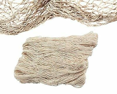 lot of 2 cotton fish net natural