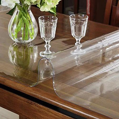 "LovePads Size Thick Custom Table Furniture Protective Cover Desk Top Coffee End Mat 42"" x 60"""
