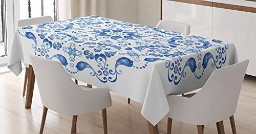 mandala decor tablecloth