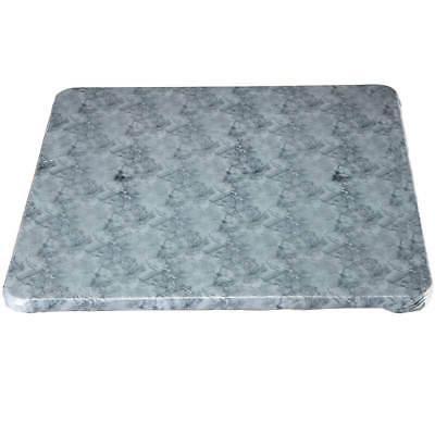 marble vinyl elasticized banquet table cover