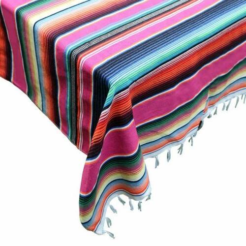 Mexican Blanket Serape Party Fiesta Decor