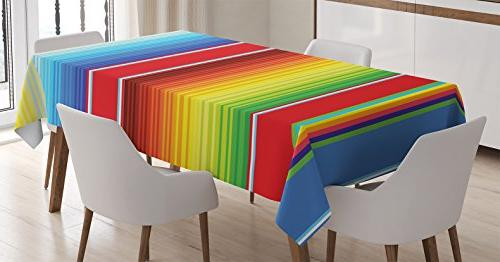 mexican decorations tablecloth