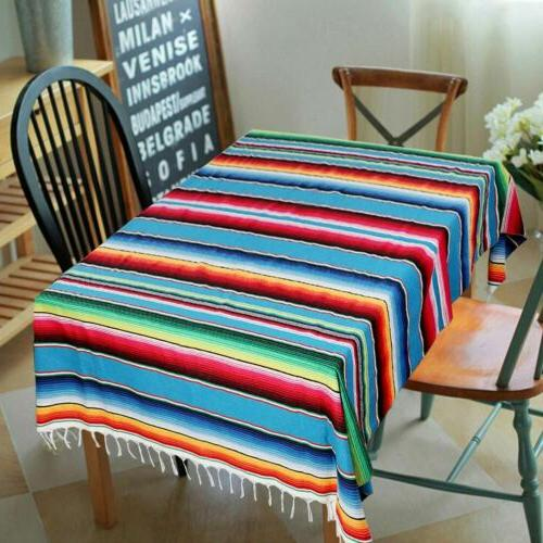 Mexican Runner Blanket Tablecloth Wedding Party