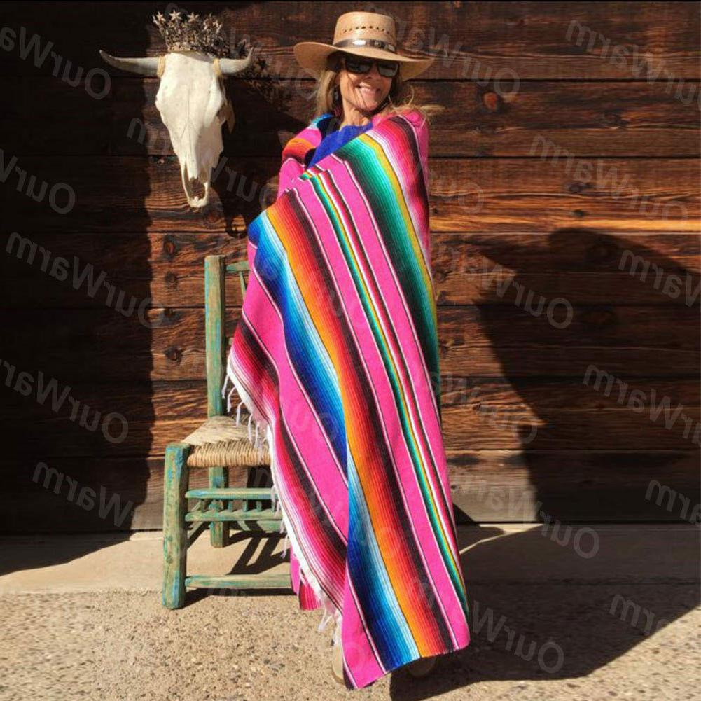 Mexican Blanket Tablecloth Cotton Wedding