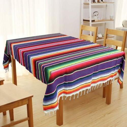 Mexican Serape Table Runner Blanket Wedding