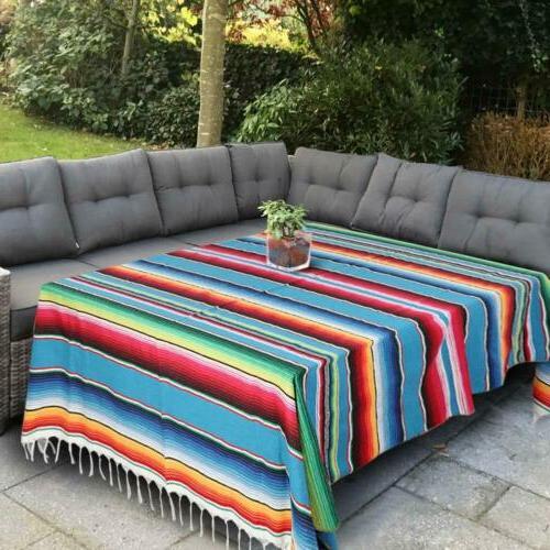 Mexican Blanket Tablecloth Wedding