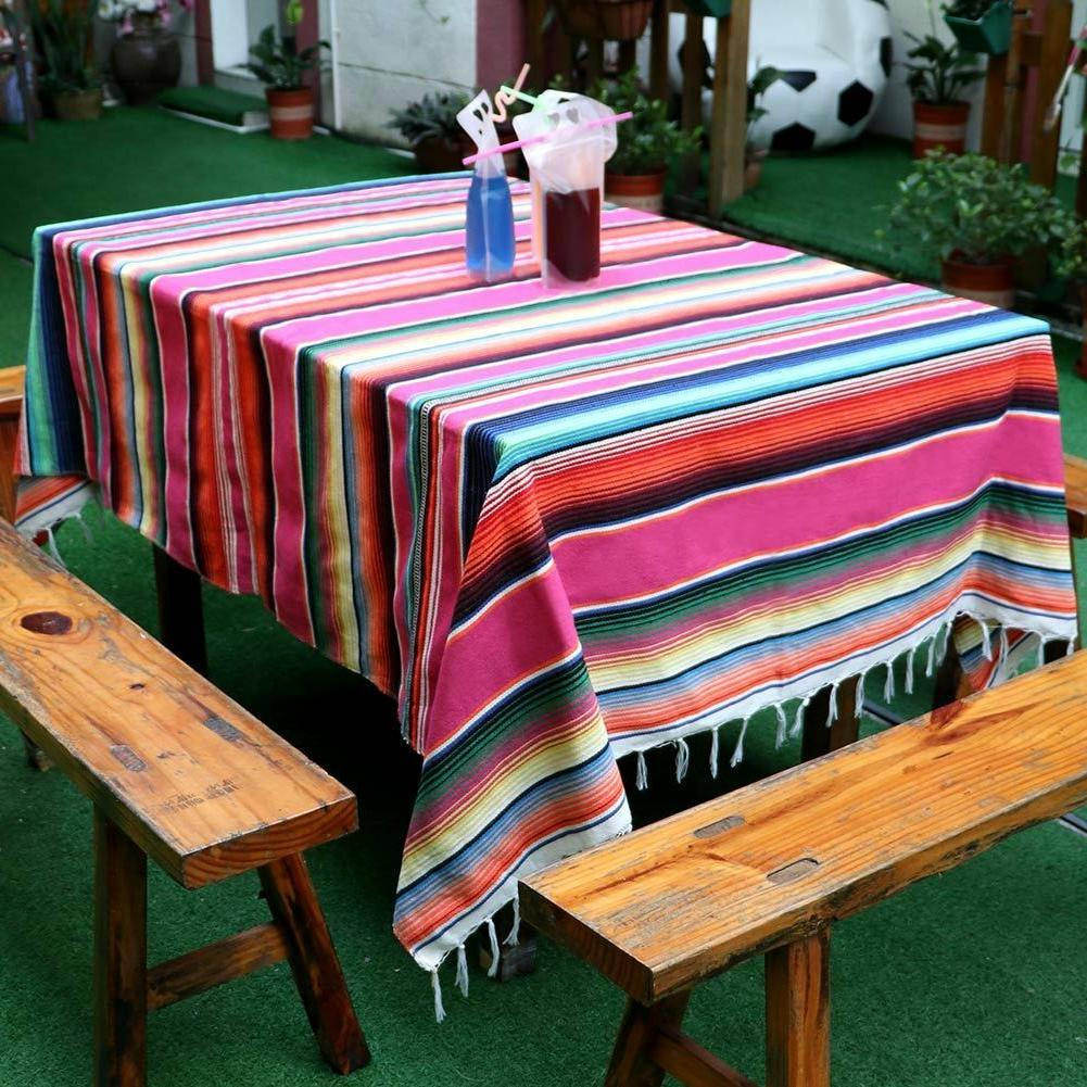 Mexican Serape Blanket Party Home