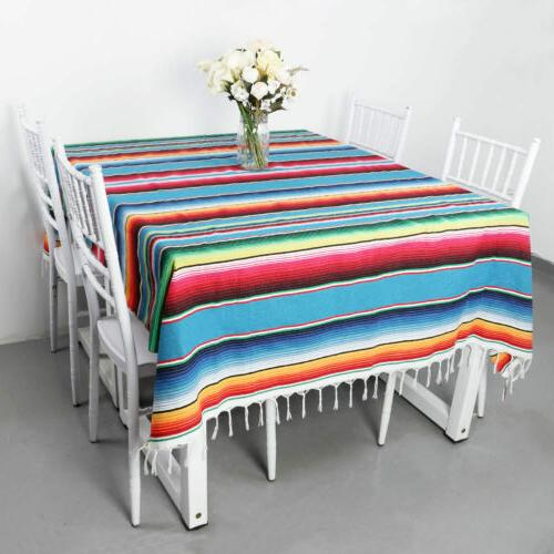 Mexican Blanket Wedding Party