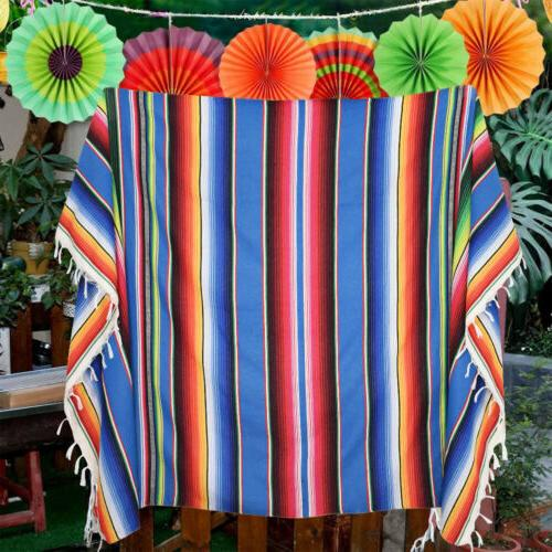 Mexican Tablecloth Picnic Home Party Cover