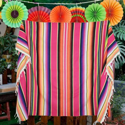 Mexican Runner Tablecloth Picnic Party Cover Dec