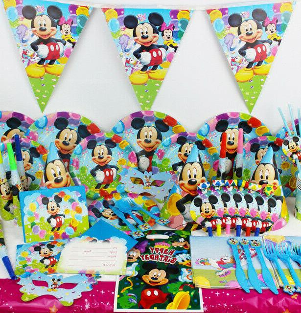 mickey mouse clubhouse birthday party set range