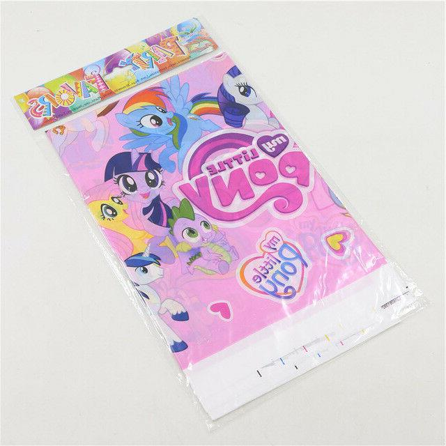 My Little Pony Tablecloth Table Party Supplies Tableware Birthday