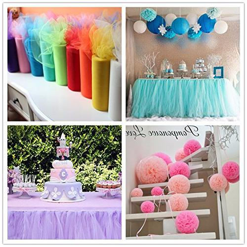 Net Yarn Tulle Decoration Home Aprons set Mantle tutu Party of