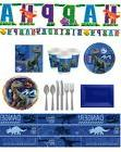 NEW Jurassic World Birthday Party Dinosaurs Tableware Set Ba