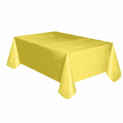 New Large Table Cover Wipe Clean Tablecloth