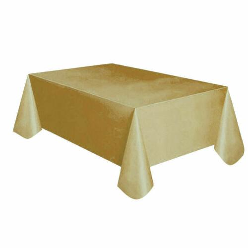 New Table Cover Cloth Wipe Clean Party Tablecloth