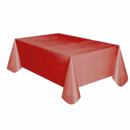 Clean Party Tablecloth