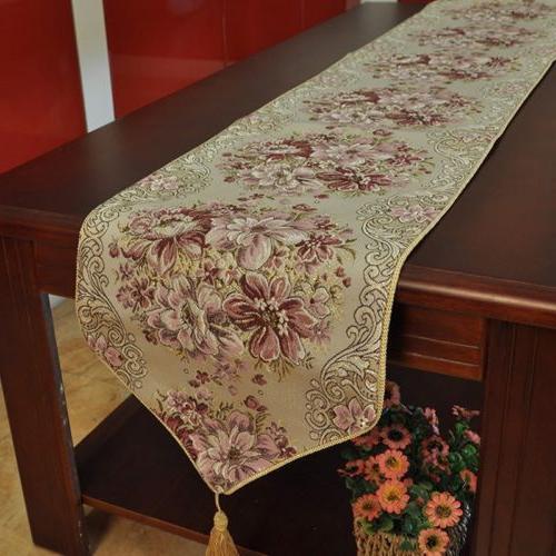 New Runner Home Dining Tea Table Cover Decor