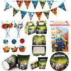 Ninjago Children Kids Theme Birthday Party Supplies Tablewar