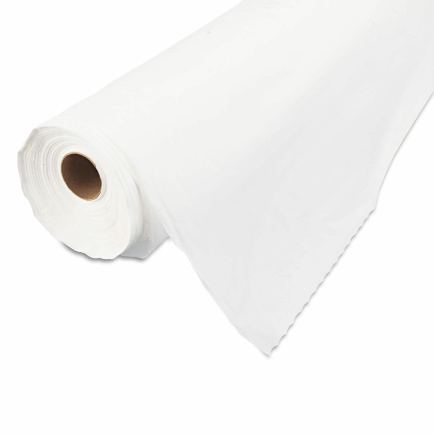 """Tablemate Table Cover, 40"""" 300ft - White"""