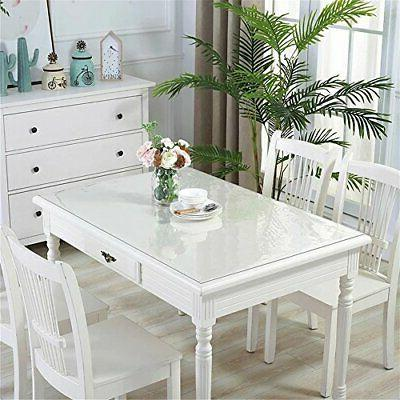 60 x Clear Table Great for Wooden Table