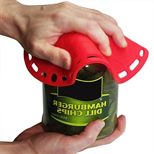 Silicone - 6 in Kitchen Tool, Splatter Guard, Jar Decorative Red, Inches. 121 Secrets
