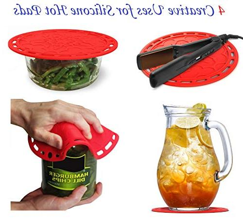 Silicone Hot 6 in Kitchen Tool, Splatter Microwave Jar Opener, Decorative Red, 8 121 Ebook