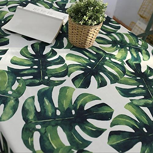 ColorBird Waterproof Table Cover for Kitchen Linen Decoration