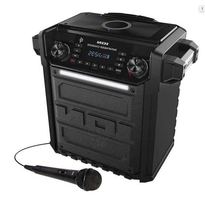 pathfinder charger rugged bluetooth portable speaker wireles