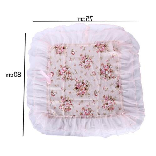 Pink Lace Embroidered Cover MP