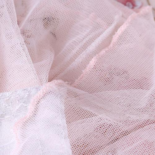 Pink Tablecloth Lace Table Cover Decor MP