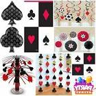 Place Your Bets Casino Las Vegas Party Cards Decorations Tab
