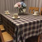 Plaid Tablecloth American Country Style Plaids Table Cover C