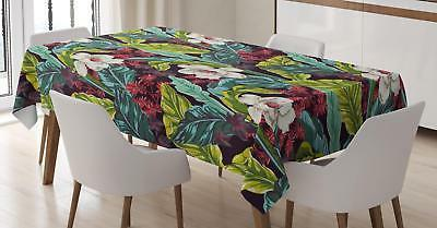 plant tablecloth 3 sizes rectangular table cover