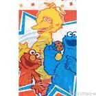 SESAME STREET PLASTIC TABLE COVER ~ 1st Birthday Party Suppl