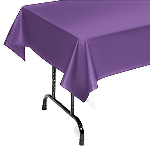 plastic tablecloth rectangle