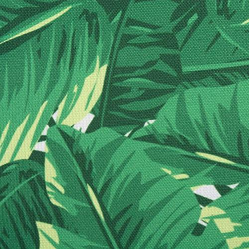 DII Polyester Runner, Spilll Waterproof or Indoor Washable, Banana Leaf