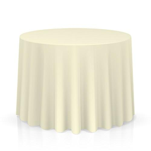 round seamless tablecloths