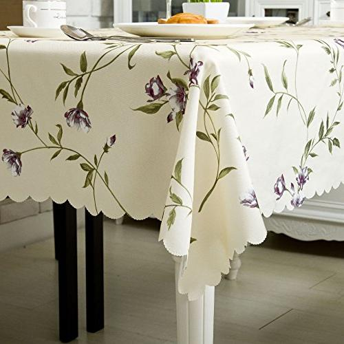 """OstepDecor Tablecloth Banquet Picnic Table Cover Rectangle/Oblong, 60"""""""