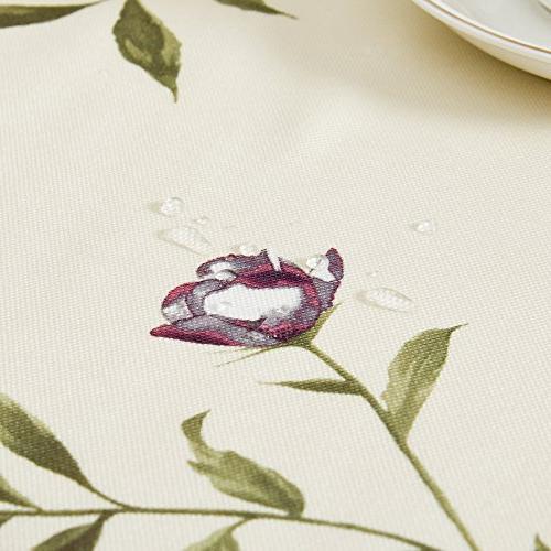 "OstepDecor 100% Polyester Tablecloth Picnic Rectangle/Oblong, 60"" x"