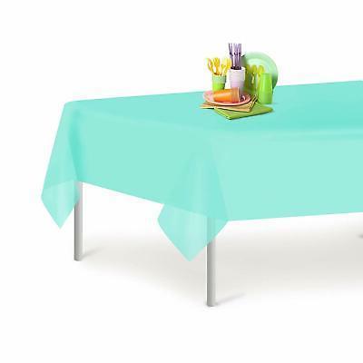 premium plastic tablecloth rectangle table cover