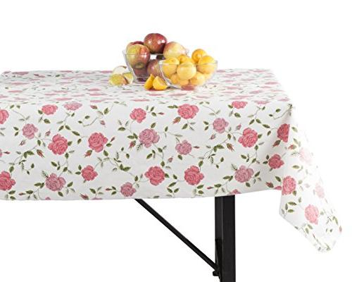 Yourtablecloth Tablecloth with for the Home, Picnics, Events, Indoor Outdoor