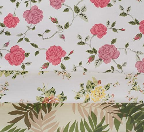 Yourtablecloth Vinyl with Flannel for the Home, Indoor and Outdoor