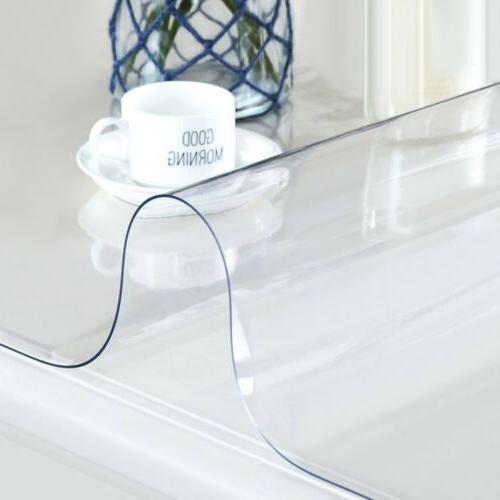 1.5mm PVC Clear Waterproof Desk Table Protector Cover Pad