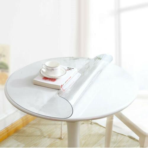 Waterproof Clear Table Cover Desk Protector Mat