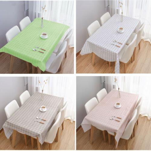pvc table cloth waterproof tablecloth spillproof table