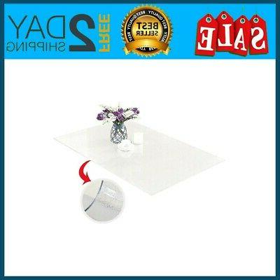 pvc table cover protector desk pads custom