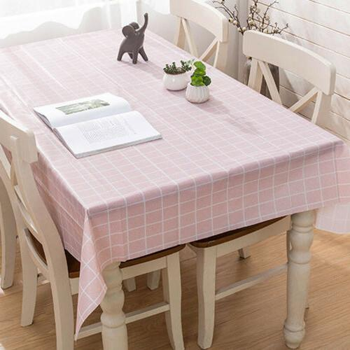 pvc no cleanwaterproof tablecloth dinning table cover