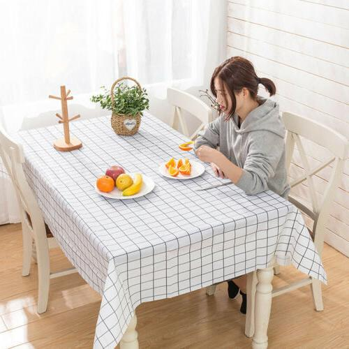 PVC Tablecloth Table Mat Living Room