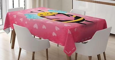Queen Bee Tablecloth Ambesonne 3 Sizes Rectangular Table Cov